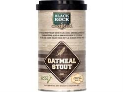 Охмеленный солодовый экстракт «Black Rock - Craft Outmeal Stout» (крафтовый овсяный стаут, на 23 литра пива)