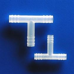 Т-образный тройник 8 мм (латунь) - фото 6331