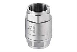 Клапан обратный муфтовый вр-вр DN20 (3/4) 26.9 AISI304 - фото 6556