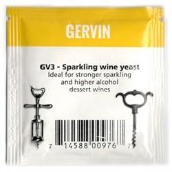 Винные дрожжи Gervin GV3 Sparkling Wine (для игристых вин), 5 гр - фото 6795