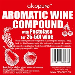 Винные дрожжи «Gozdawa Alcopure Aromatic Wine Compound», 10 гр - фото 6798