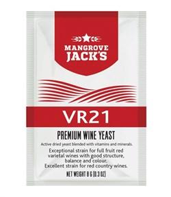 Винные дрожжи Mangrove Jack - VR21 (для полнотелых фруктовых красных вин, дающий отличную структуру, баланс и цвет) - фото 6809