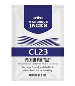 Винные дрожжи Mangrove Jack CL23 для сухих белых и игристых вин всех видов - фото 6811