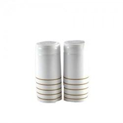 Термоколпачки для бутылок, 33*55, Белые глянцевые, 100 шт. (Л) - фото 7138