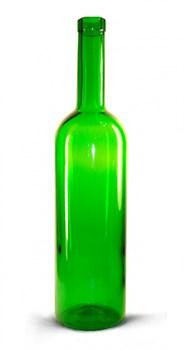 Бутылка винная зеленая, 0.75 литра - фото 7166
