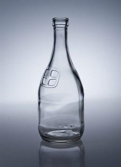 Бутылка для самогона с окном, 1 л - фото 7181