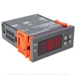 Цифровой терморегулятор MH1210W (220В, 10A) c выносным датчиком - фото 7285
