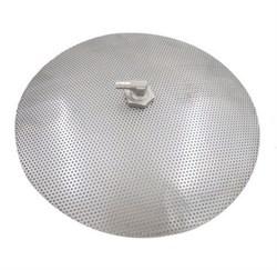 Фальш-дно 30.5 см диаметр, нержавеющая сталь - фото 7330