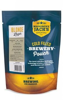 """Охмеленный солодовый экстракт """"Mangrove Jack's Traditional Series Blonde Lager Pouch"""", 1.5 кг."""