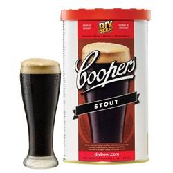 Охмелённый солодовый экстракт «Coopers - Stout», 1.7 кг