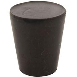 Пробка резиновая, 50 мм (черная) - фото 7430