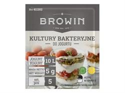 Йогуртовая культура BROWIN 5x1гр. (на 10 литров молока) - фото 7727