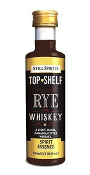 Эссенция Still Spirits Top Shelf Rye Whiskey - фото 8632