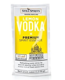 Эссенция Still Spirits Lemon Vodka 1L Sachet - фото 8712