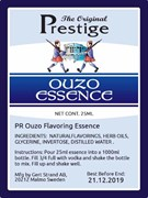 Натуральная эссенция «PR Prestige — Prestige Ouzo, 20ml Essence»