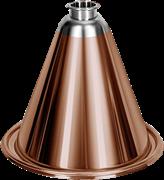 "Конус медь 2"", 301, низкий (h=200 мм), 4,5 л (ДЖ)"