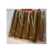 Термоколпачки для винных бутылок 32x40мм ЗОЛОТЫЕ с отрывной верхней частью