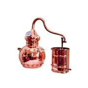 Медный аламбик Copper Traditional Alembic Still – 20л со встроенным термометром