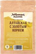 Этикетка (наклейка) на бутылку настойка «Алтайская с золотым корнем»