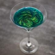 Шиммер (кандурин) для напитков Зеленая фея, 1 гр (до литра)
