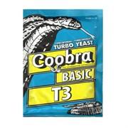 Дрожжи спиртовые Coobra Basic T 3 , 90 г (Швеция)