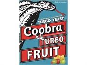 Дрожжи фруктовые Coobra Turbo Fruit, 40 г (Швеция)
