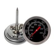 Термометр аналоговый от 0 до 350 С, щуп 5 см крепление на барашке