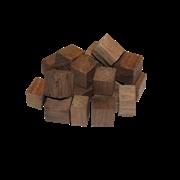 Щепа дубовая «ЛЕР - Премиум» фракция кубическая средний обжиг, 100 гр