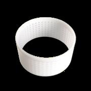 Форма для сыра, кольцо (без дна) 120x58mm перфорированная полимерная