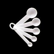 Мерные ложки пластиковые, набор