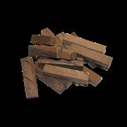 Брусочки из дерева шелковицы, средний обжиг (Б), 100гр