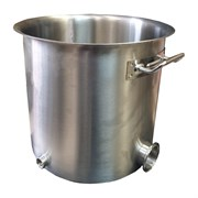 Перегонный куб 50 литров с зиговкой и выходом под ТЭН, без крышки
