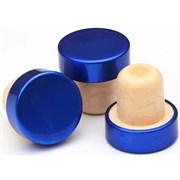 Пробка Т-образная полимерная 28,8*19,5, синяя