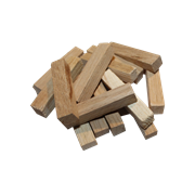 Брусочки дубовые слабый обжиг (Б), 100гр