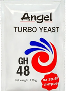 Спиртовые турбо дрожжи «Angel Yeast — GH 48», 130 гр