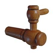 Краник деревянный для дубовой бочки