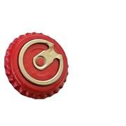 Кроненпробки с кольцом КРАСНЫЕ, 26 мм, 50 шт