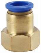 Быстросъемный переходник 10 мм на внутр. 1/4 (никель)