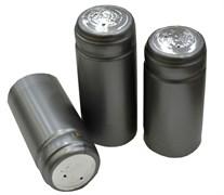 Термоколпачки для винных бутылок 31х65мм - серебряные с отрыв. частью, 1 шт