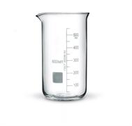 Стакан стеклянный высокий с носиком и шкалой, 600мл, В-1-600 ТС