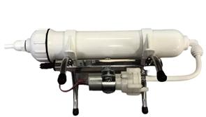 Угольная установка горизонтальная Дистив IL-10 (белая колба)