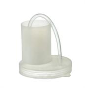 Гидрозатвор-крышка для банок (с трубкой)