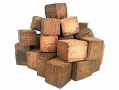 Дубовые кубики (средний обжиг), 100 гр