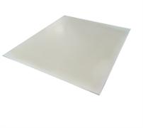 Пластина силиконовая  толщиной 10 м.м.  (лист для прокладок, стоимость за 1 кв. см.)