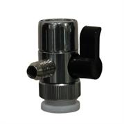 Переходник универсальный с переключателем (дивертор), 8 мм