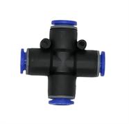 Переходник быстросъемный крестообразный, 10 мм (пластиковый)