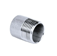 Ниппель приварной нр DN15 1/2 21.3 мм AISI 304