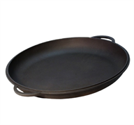 Крышка-сковорода чугунная, 8 л