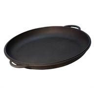 Крышка-сковорода чугунная, 10 л