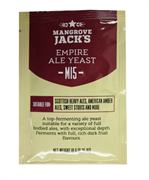 Дрожжи пивные «Mangrove Jack's Craft Series Yeast — Empire Ale M15», 10 гр (Scottish Ale, Brown Ale, Sweet Stout)